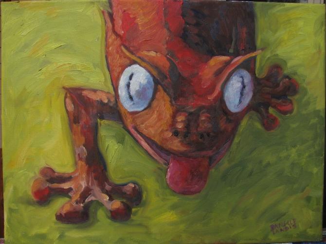 """Satanic Leaf-Tail Gecko"""